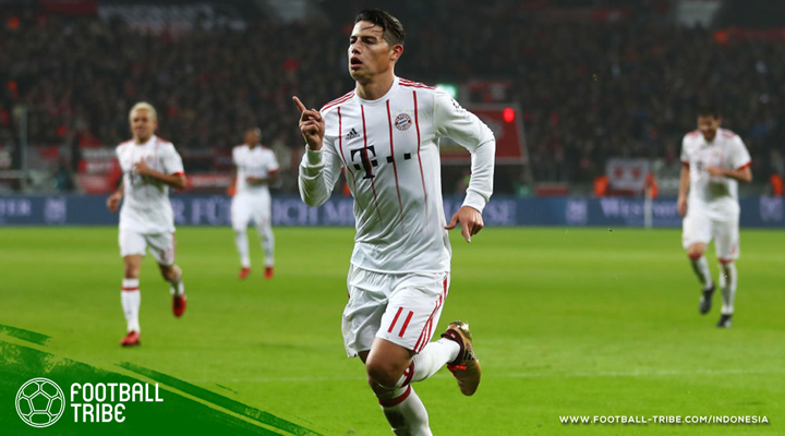 James Rodriguez Terlahir Kembali di Bayern München