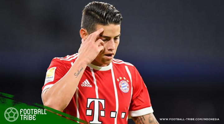 James Rodriguez Percaya Bayern München Bisa Raih Treble Winners Musim Ini