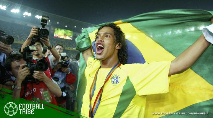 Warna-warni 20 Tahun Karier Sempurna Ronaldinho