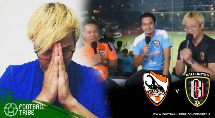Komentator Thailand yang Meledek Bali United Akhirnya Minta Maaf Lewat Akun Instagram