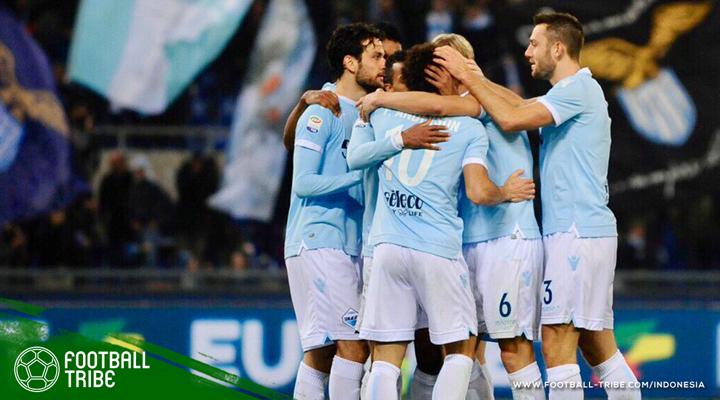 Cukur Udinese, Lazio Merangkak Ke Posisi Tiga Besar Classifica