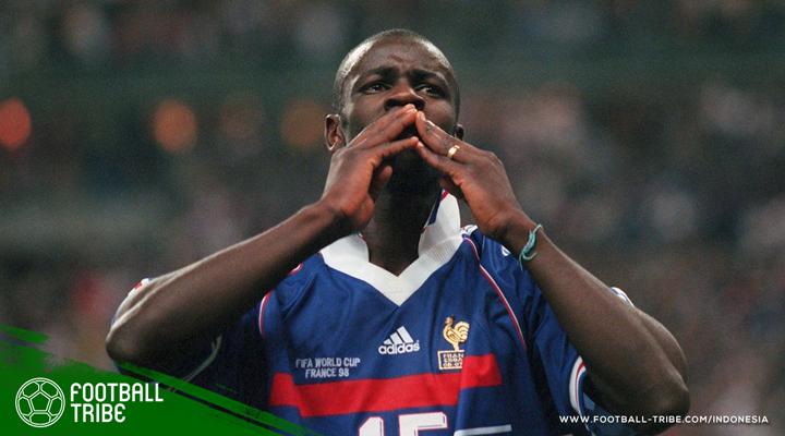 Lilian Thuram dan Kisah Dua Gol di Semifinal Piala Dunia 1998
