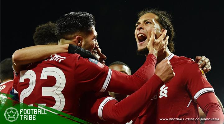 Lakoni Debut, Virgil van Dijk Jadi Bintang Kemenangan Liverpool
