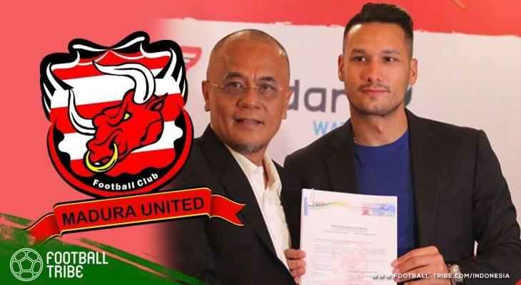 Raphael Maitimo Resmi Berseragam Madura United