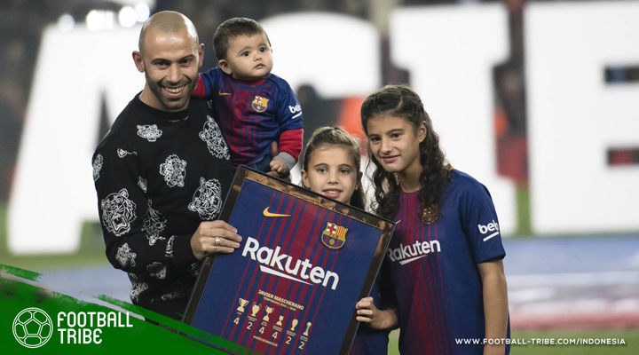 Momen-Momen Paling Berkesan Javier Mascherano di Barcelona