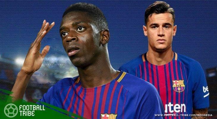 Meraba Potensi Duet 300 Juta Euro: Philippe Coutinho dan Ousmane Dembele