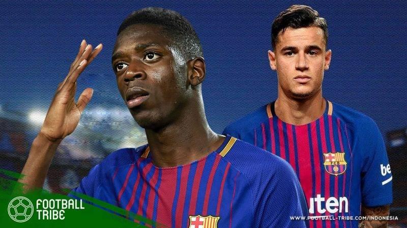 adaptasi Coutinho dan Dembele transfer termahal yang pernah dikeluarkan Barcelona