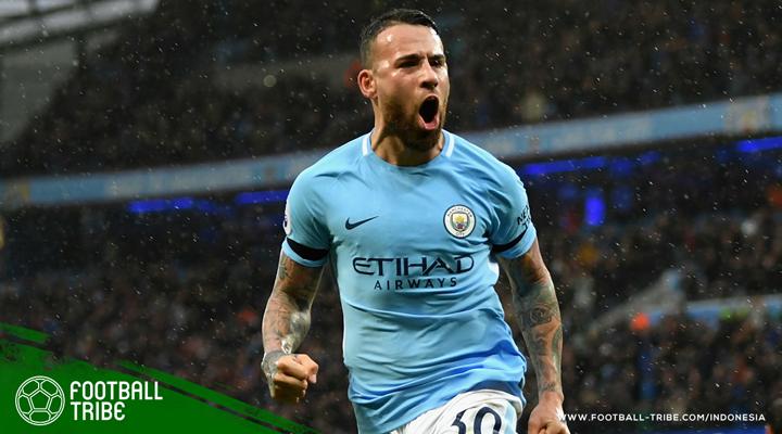 Manchester City Perpanjang Kontrak Nicolas Otamendi