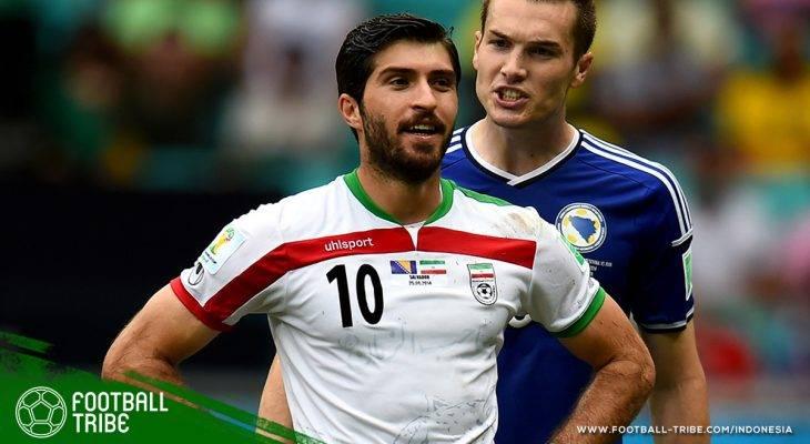 Penyerang Utama Timnas Iran Terancam Dicoret dari Skuat Piala Dunia karena Berciuman!