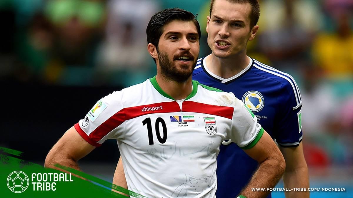 Penyerang Utama Timnas Iran Terancam Dicoret Dari Skuat