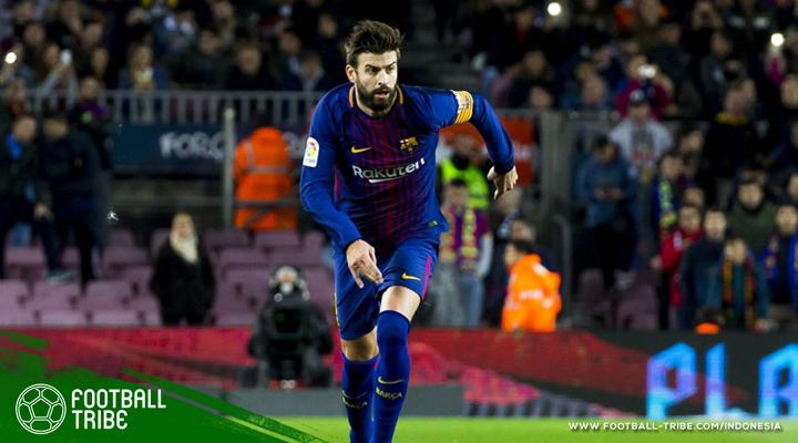 """Gerard Pique: """"Bagi Saya, Barcelona atau Tidak Sama Sekali!"""""""