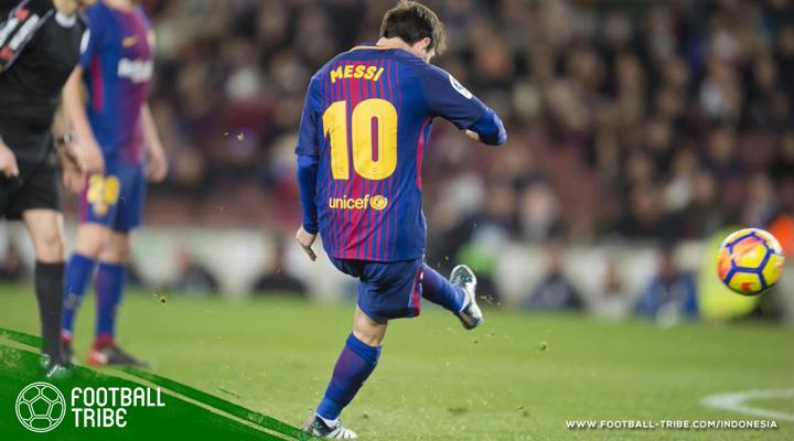 Rangkuman Jornada 21 La Liga: Rekor Gol Bola Mati Cristiano Ronaldo dan Lionel Messi