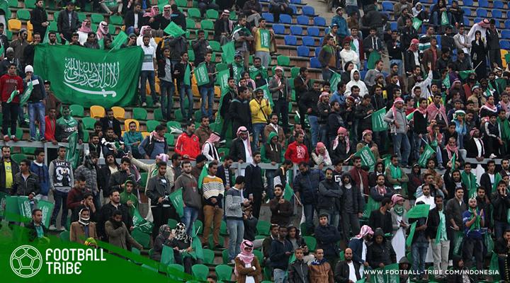 Sejarah Baru di Arab Saudi: Para Wanita Akhirnya Diizinkan untuk Menonton Sepak Bola Langsung di Stadion