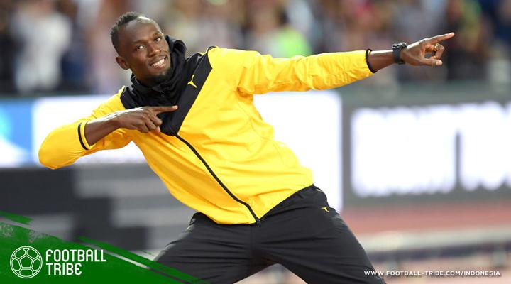 Serius Menapaki Karier di Sepak Bola, Usain Bolt Siap Lakukan Uji Coba dengan Borussia Dortmund