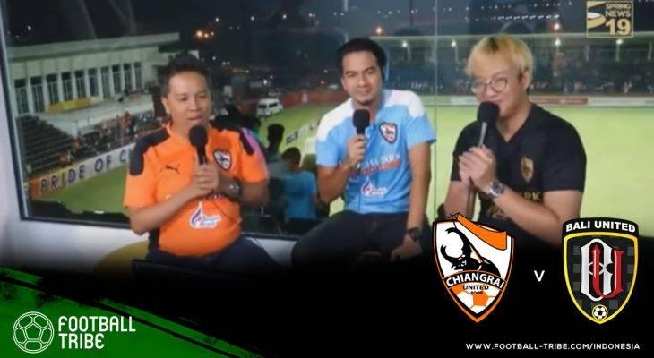 Wargamaya Thailand Sebut Komentator di Laga Chiangrai United Lawan Bali United Tidak Profesional