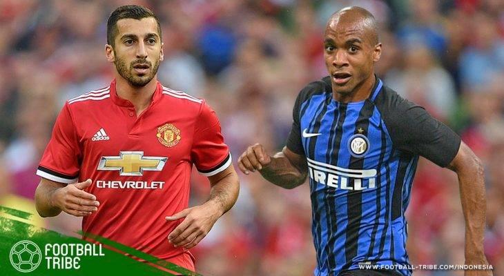Rencana Tukar Pemain Antara Manchester United dan Internazionale Milano