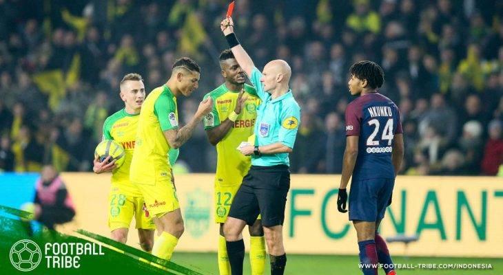 Tony Chapron, Wasit yang Tendang dan Usir Pemain di Laga Nantes vs PSG