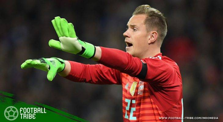 Kampanye 2018: Marc-Andre ter Stegen untuk Kiper Utama Jerman di Piala Dunia!