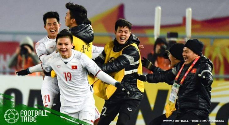 Timnas Vietnam U-23 Ciptakan Sejarah Lolos ke Final Piala Asia U-23!