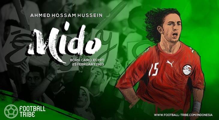 Mido, Pharaoh Terbaik Mesir Sebelum Mohamed Salah