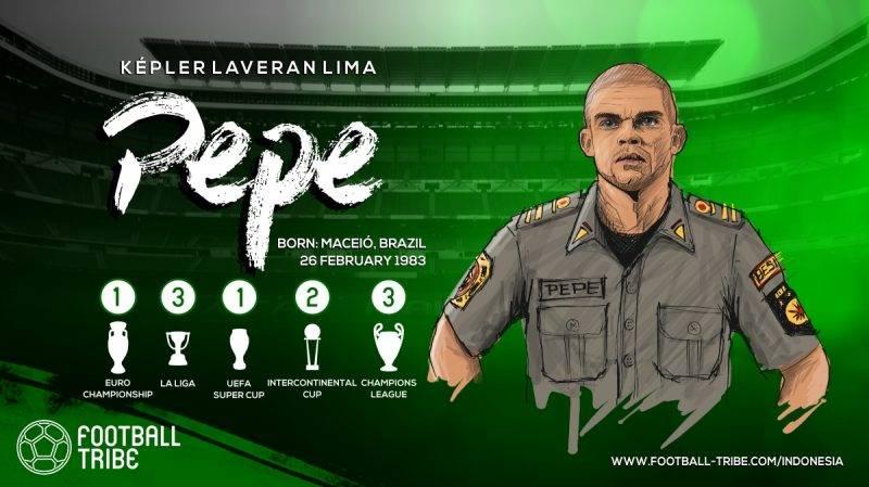 Pepe juga pernah melakukan tindakan tak terpuji