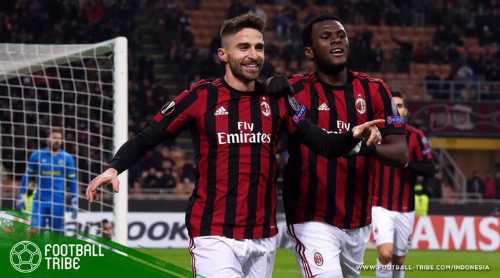 Tampil Santai, AC Milan Kembali Lumpuhkan Ludogorets