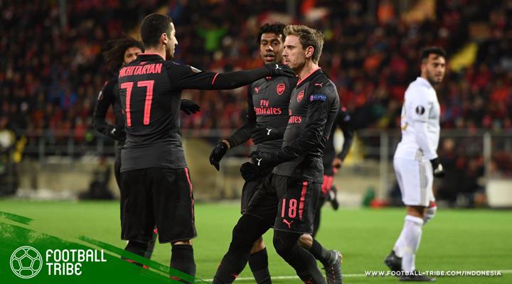 Arsenal Tundukkan Östersunds, Klub yang Lebih Muda dari Masa Bakti Arsene Wenger