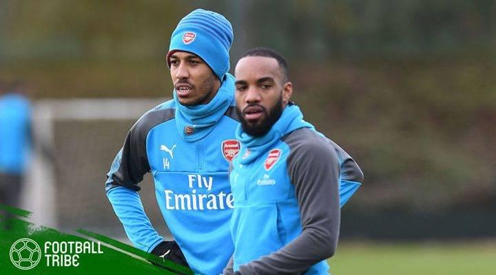 Menyambut Persaingan Sehat Pierre-Emerick Aubameyang dan Alexandre Lacazette di Lini Serang Arsenal