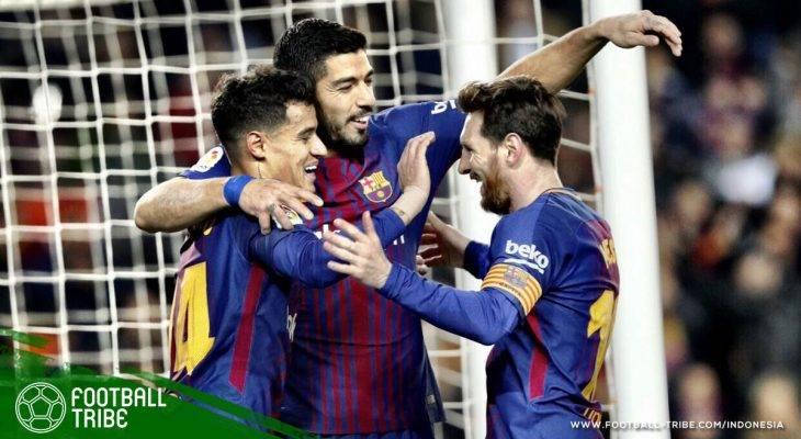Barcelona Pesta Gol di 'Derby Catalonia Baru'