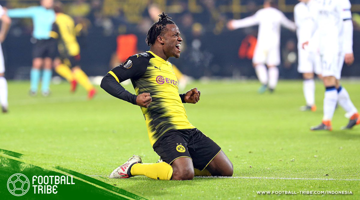 Batshuayi, Aktor Utama Kemenangan Dortmund Atas Atalanta