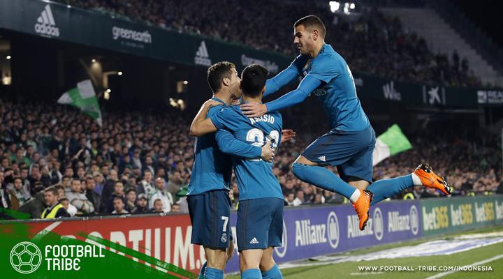 Asensio Gemilang, Real Madrid Pesta Gol Lagi di Kandang Real Betis