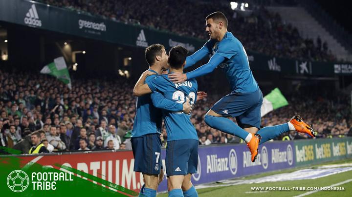 Real Madrid membalaskan dendam
