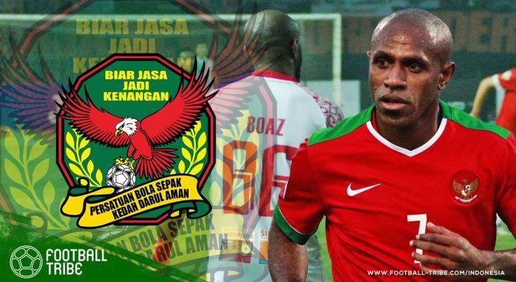 Boaz Solossa Menyusul ke Liga Super Malaysia?