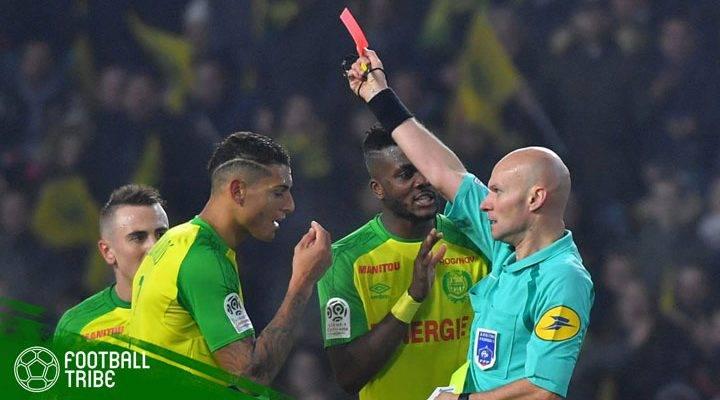 Tendang Pemain Nantes, Wasit Prancis Dihukum Tiga Bulan