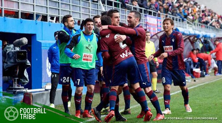 Rekap Jornada 22 La Liga: Puja-puji untuk Eibar dan Girona
