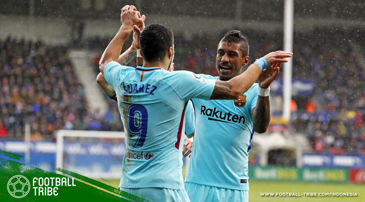 Meski Kalah Penguasaan Bola dari Eibar, Barcelona Tetap Kokoh di Puncak