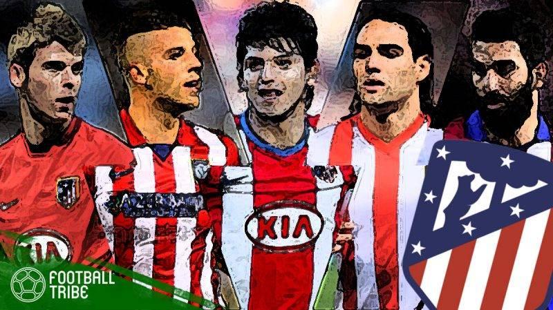 skuat mantan terbaik Atletico Madrid