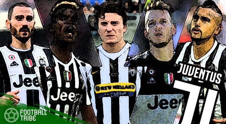 11 Mantan Terbaik Juventus Dalam Sedekade Terakhir