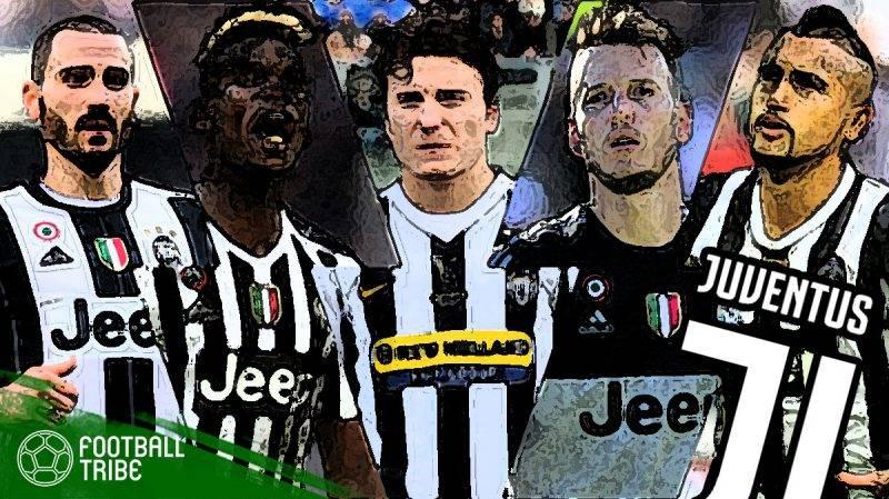 mantan terbaik Juventus