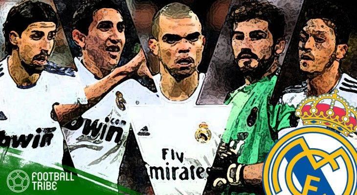 Menengok Sebelas Mantan Mewah Real Madrid