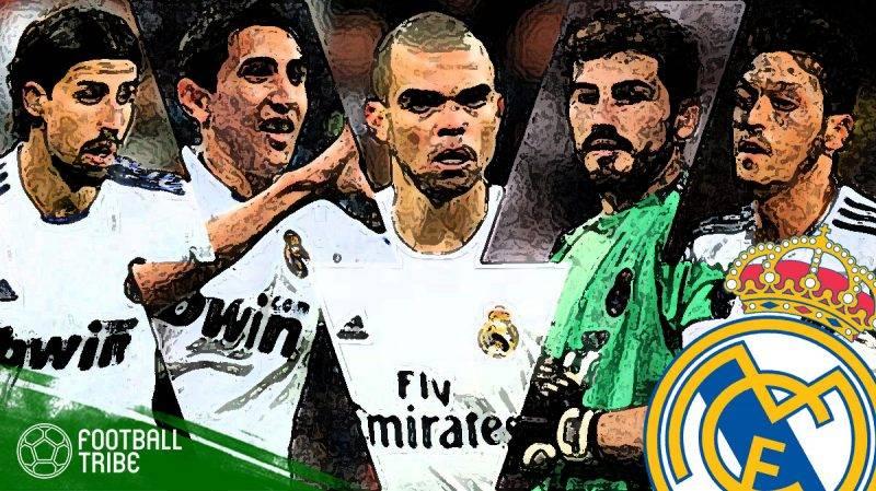 mantan terbaik Real Madrid