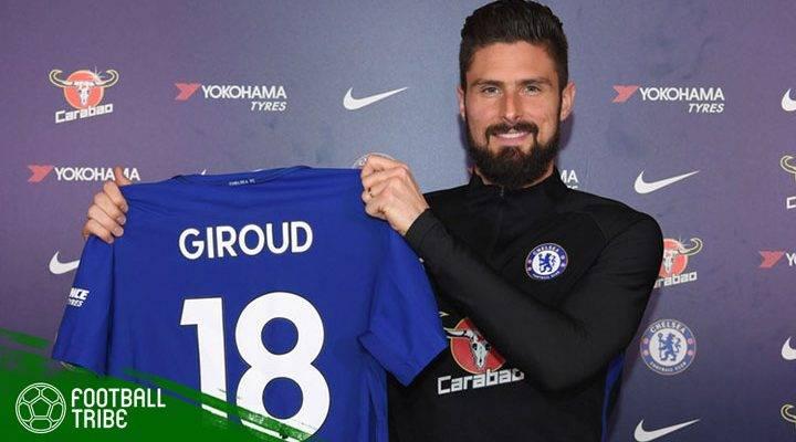 Olivier Giroud dan Nasib Para Penyerang Chelsea yang Datang di Musim Dingin