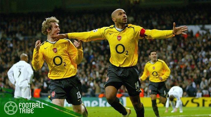 21 Februari: Ketika Thierry Henry Menaklukkan Santiago Bernabeu