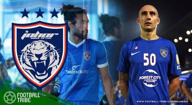 Bedah Kekuatan Johor Darul Ta'zim, Lawan Pertama Persija di Piala AFC 2018