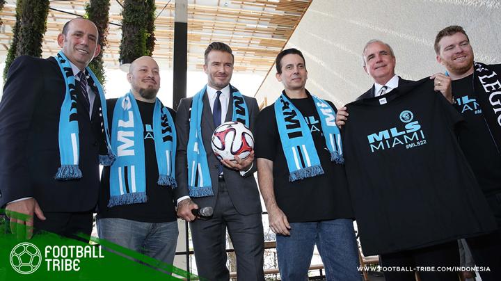 David Beckham mendirikan klub sepak bola di Miami