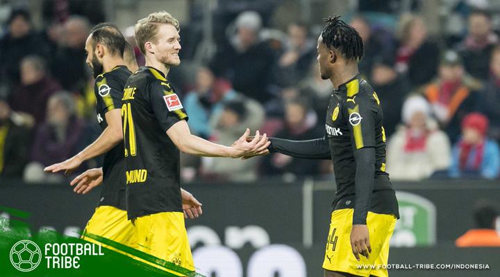 Cetak Dua Gol Debut dan Satu Asis, Batshuayi Resmi Menjadi 'Batman' Baru Dortmund