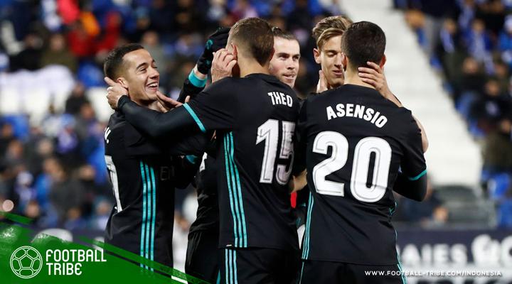 Cetak Tiga Gol, Real Madrid Kudeta Posisi Ketiga