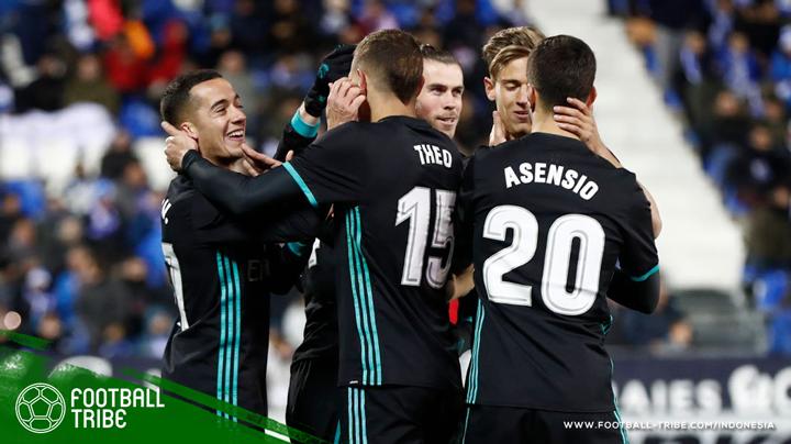 Real Madrid mampu mengalahkan Leganes
