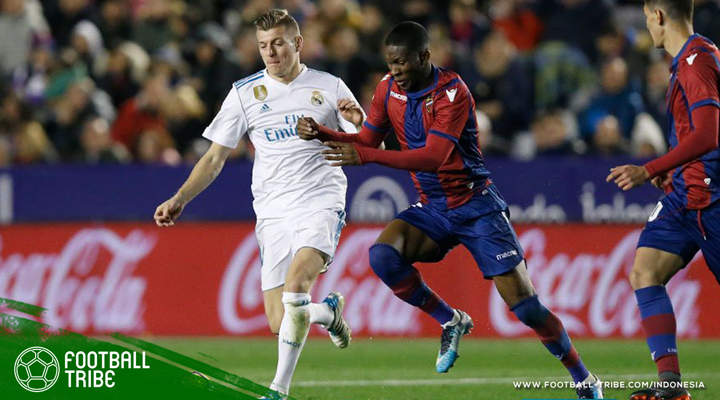 Cetak Gol di Menit-Menit Akhir, Giampaolo Pazzini Buyarkan Kemenangan Real Madrid