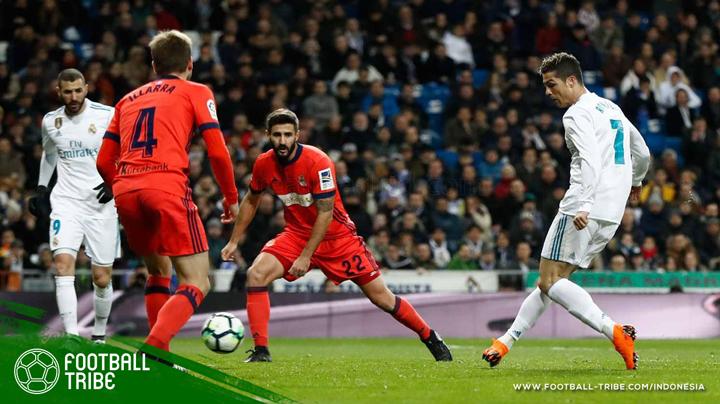 Cristiano Ronaldo dan kawan-kawan melumat Real Sociedad